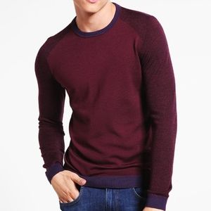 Ted Baker London Crewneck Pullover Sweater size 2